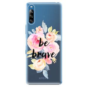 Plastové pouzdro iSaprio - Be Brave - na mobil Sony Xperia L4