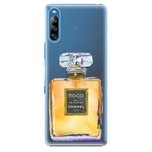 Plastové pouzdro iSaprio - Chanel Gold - na mobil Sony Xperia L4