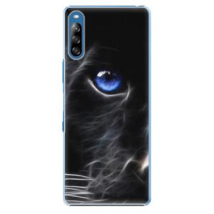 Plastové pouzdro iSaprio - Black Puma - na mobil Sony Xperia L4