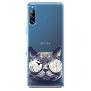 Plastové pouzdro iSaprio - Crazy Cat 01 - na mobil Sony Xperia L4