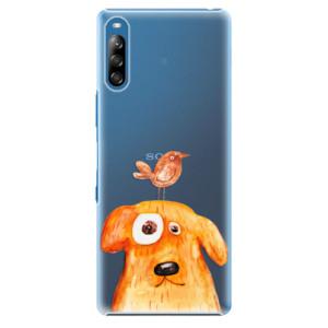 Plastové pouzdro iSaprio - Dog And Bird - na mobil Sony Xperia L4