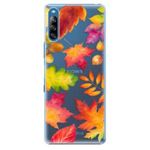 Plastové pouzdro iSaprio - Autumn Leaves 01 - na mobil Sony Xperia L4