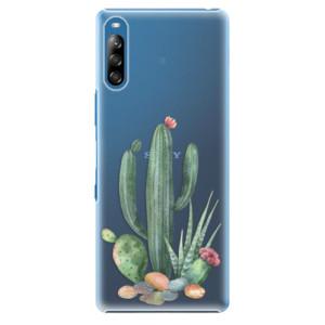 Plastové pouzdro iSaprio - Cacti 02 - na mobil Sony Xperia L4