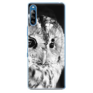 Plastové pouzdro iSaprio - BW Owl - na mobil Sony Xperia L4