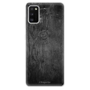 Odolné silikonové pouzdro iSaprio - Black Wood 13 - na mobil Samsung Galaxy A41