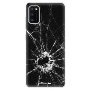 Odolné silikonové pouzdro iSaprio - Broken Glass 10 - na mobil Samsung Galaxy A41