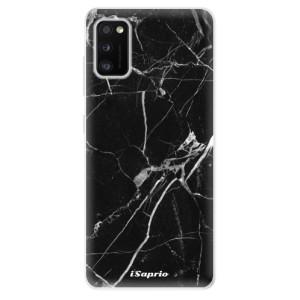 Odolné silikonové pouzdro iSaprio - Black Marble 18 - na mobil Samsung Galaxy A41