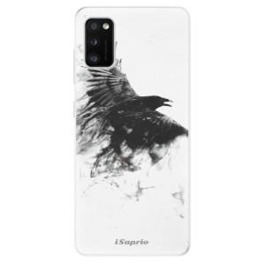 Odolné silikonové pouzdro iSaprio - Dark Bird 01 - na mobil Samsung Galaxy A41