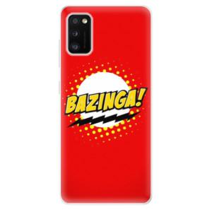Odolné silikonové pouzdro iSaprio - Bazinga 01 - na mobil Samsung Galaxy A41