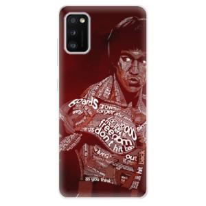 Odolné silikonové pouzdro iSaprio - Bruce Lee - na mobil Samsung Galaxy A41