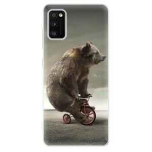 Odolné silikonové pouzdro iSaprio - Bear 01 - na mobil Samsung Galaxy A41