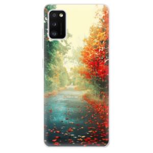 Odolné silikonové pouzdro iSaprio - Autumn 03 - na mobil Samsung Galaxy A41