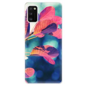 Odolné silikonové pouzdro iSaprio - Autumn 01 - na mobil Samsung Galaxy A41