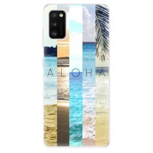 Odolné silikonové pouzdro iSaprio - Aloha 02 - na mobil Samsung Galaxy A41