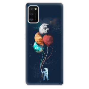 Odolné silikonové pouzdro iSaprio - Balloons 02 - na mobil Samsung Galaxy A41