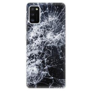 Odolné silikonové pouzdro iSaprio - Cracked - na mobil Samsung Galaxy A41