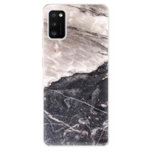 Odolné silikonové pouzdro iSaprio - BW Marble - na mobil Samsung Galaxy A41