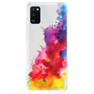 Odolné silikonové pouzdro iSaprio - Color Splash 01 - na mobil Samsung Galaxy A41