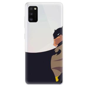 Odolné silikonové pouzdro iSaprio - BaT Comics - na mobil Samsung Galaxy A41