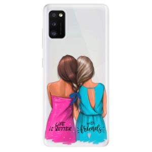 Odolné silikonové pouzdro iSaprio - Best Friends - na mobil Samsung Galaxy A41