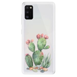 Odolné silikonové pouzdro iSaprio - Cacti 01 - na mobil Samsung Galaxy A41