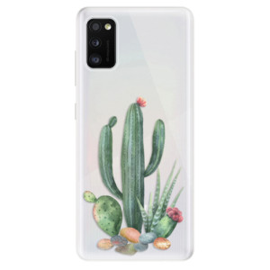 Odolné silikonové pouzdro iSaprio - Cacti 02 - na mobil Samsung Galaxy A41