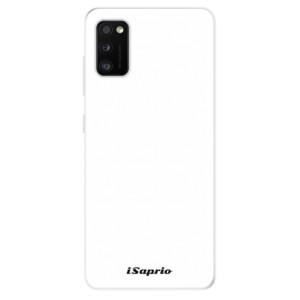 Odolné silikonové pouzdro iSaprio - 4Pure - bílé - na mobil Samsung Galaxy A41