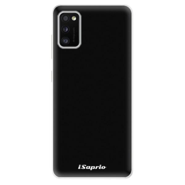 Odolné silikonové pouzdro iSaprio - 4Pure - černý - Samsung Galaxy A41