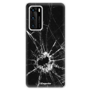 Odolné silikonové pouzdro iSaprio - Broken Glass 10 - na mobil Huawei P40