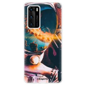 Odolné silikonové pouzdro iSaprio - Astronaut 01 - na mobil Huawei P40