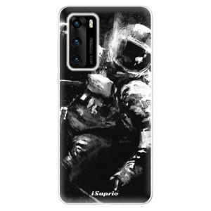 Odolné silikonové pouzdro iSaprio - Astronaut 02 - na mobil Huawei P40