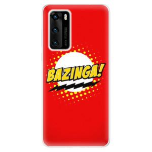 Odolné silikonové pouzdro iSaprio - Bazinga 01 - na mobil Huawei P40