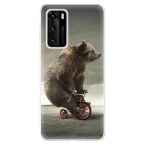 Odolné silikonové pouzdro iSaprio - Bear 01 - na mobil Huawei P40