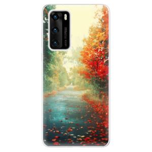 Odolné silikonové pouzdro iSaprio - Autumn 03 - na mobil Huawei P40