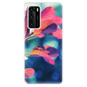 Odolné silikonové pouzdro iSaprio - Autumn 01 - na mobil Huawei P40