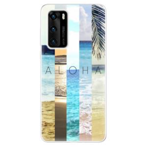 Odolné silikonové pouzdro iSaprio - Aloha 02 - na mobil Huawei P40