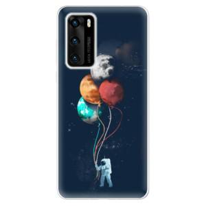 Odolné silikonové pouzdro iSaprio - Balloons 02 - na mobil Huawei P40