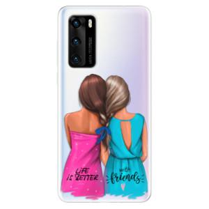 Odolné silikonové pouzdro iSaprio - Best Friends - na mobil Huawei P40