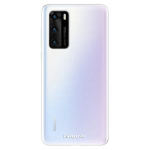 Odolné silikonové pouzdro iSaprio - 4Pure - čiré bez potisku - na mobil Huawei P40
