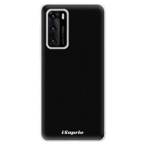 Odolné silikonové pouzdro iSaprio - 4Pure - černé - na mobil Huawei P40
