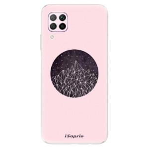Odolné silikonové pouzdro iSaprio - Digital Mountains 10 - na mobil Huawei P40 Lite
