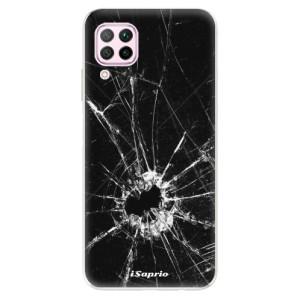 Odolné silikonové pouzdro iSaprio - Broken Glass 10 - na mobil Huawei P40 Lite