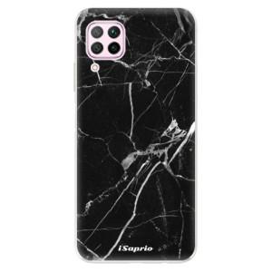 Odolné silikonové pouzdro iSaprio - Black Marble 18 - na mobil Huawei P40 Lite