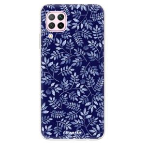Odolné silikonové pouzdro iSaprio - Blue Leaves 05 - na mobil Huawei P40 Lite