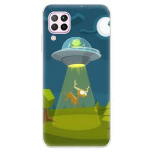 Odolné silikonové pouzdro iSaprio - Alien 01 - na mobil Huawei P40 Lite