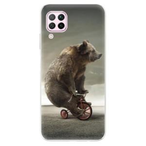 Odolné silikonové pouzdro iSaprio - Bear 01 - na mobil Huawei P40 Lite