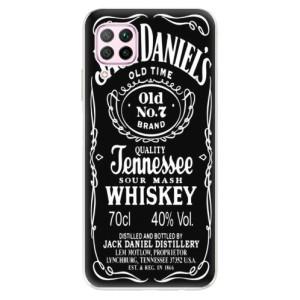 Odolné silikonové pouzdro iSaprio - Jack Daniels - na mobil Huawei P40 Lite - poslední kus za tuto cenu