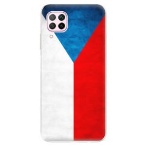 Odolné silikonové pouzdro iSaprio - Czech Flag - na mobil Huawei P40 Lite