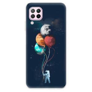 Odolné silikonové pouzdro iSaprio - Balloons 02 - na mobil Huawei P40 Lite