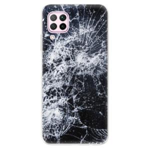 Odolné silikonové pouzdro iSaprio - Cracked - na mobil Huawei P40 Lite